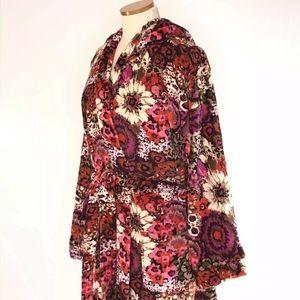 Vera Bradley Rosewood S/M Robe